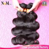 Горячие продукты продают волос оптом объемной волны 100% естественные индийские