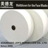 Tessuto non tessuto di Pfe99% Meltblown per le mascherine dell'ospedale