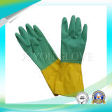 Luvas de limpeza de látex antibiótica com alta qualidade