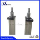 Cylindres pneumatiques avec système de conduite pour équipement industriel