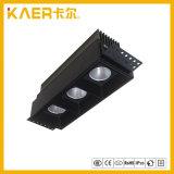 CREE 7Wx3 Square luz LED rebaixada Refletor da Grade