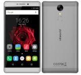 T1 de Vkworld más gris elegante del teléfono celular móvil de la huella digital de la ROM 4300mAh del RAM 16GB de la base 2GB del patio Mtk6735 del androide 6.0 de la pulgada 4G FDD-Lte de Kratos 6.0