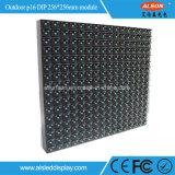 Intense panneau polychrome extérieur d'Afficheur LED du luminosité DIP346 P16