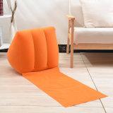 子供のための膨脹可能な群がらせた三角形のあと振れ止めの枕