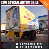 10t鶏の冷たい記憶装置のヴァンTruck Freezerのアイスクリームの交通機関のトラック