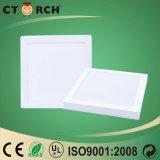 Luz de painel da superfície da eficiência elevada de Ctorch com Ce&RoHS 12W 18W 24W