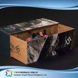 Gewölbtes Papier-Fach-Verpackungs-Geschenk-Kleid-Kleidung-Schuh-Kasten (xc-aps-010)