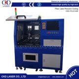 Machine de découpage en aluminium en laiton de laser de fibre d'acier inoxydable pour le métal