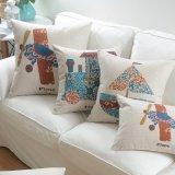 製造業者の安い綿のリネン投球枕カバー