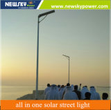 80W Solar Street Lights Warranty Integrated LED Outdoor Lamp