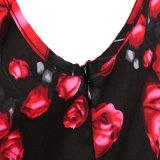 Vestiti più fini di vendita di Cheep dalla grande della stampa floreale molla calda dell'oscillazione