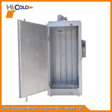 Piccolo forno elettrico industriale in lotti per il rivestimento della polvere