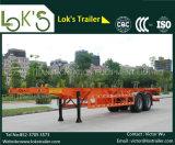 40 pies de los árboles en tándem del envase del chasis de acoplado semi para el mercado de Medio Oriente