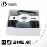 Painel ultra estreito popular do diodo emissor de luz da borda da economia de energia 8W para a HOME (quadrado)