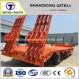 3 à 5 essieux lit extensible 50-80tonnes faible semi remorque de camion