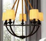 Novo Design de cobre de alta qualidade Sala candelabro, Lâmpada Pendente