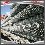 Tubo de acero galvanizado sumergido caliente BS1387 en existencias