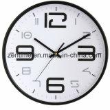 Horloge de mur de vente chaude de modèle simple grande dans le prix usine
