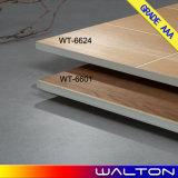 деревянной застекленные плиткой плитки пола плитки фарфора 600X600 керамические (WT-6624)