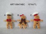 De Peperkoek van de Slinger van de Decoratie van de Partij van Kerstmis van de vacht