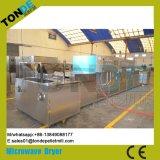 Tunnel de stérilisation de séchage micro-ondes en acier inoxydable de la machine