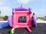 Aufblasbare Prinzessin Castle, aufblasbarer Pricess Zeichen-Prahler, aufblasbares federnd Caslte für Kinder