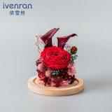 Flor de Rose de la promoción para el regalo de cumpleaños de la tarjeta del día de San Valentín