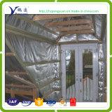 Tejido de pe azul Sarking del techo de lámina de aluminio en el mercado de Australia
