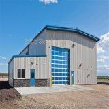 Almacén ligero prefabricado de la granja de la estructura del metal para la venta