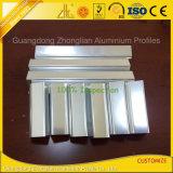 Perfil de aluminio Polished de la protuberancia del espejo para la decoración del cuarto de baño