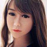 muñecas esqueléticas llenas del silicón del asno de la vagina del 160cm de la muchacha del juguete del sexo de la muñeca de la vagina del cuadro del amor inflable grande de Japón