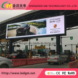 LED de cor total exterior (outdoor P10 LED publicidade Video wall)