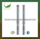 4 polegadas baratas de bomba de água submergível de alumínio energy-saving do poço profundo do fio de 0.37kw 0.5HP (4SD6-5/370W)