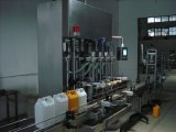 Машинное оборудование автоматического пищевого масла бутылки 5L съестного разливая по бутылкам