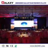 Affichage vidéo/écran/panneau/mur/signe d'intérieur polychromes P3/P4/P5/P6 de la location DEL pour l'exposition, étape, conférence