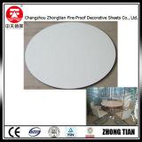 Hoja laminada compacta HPL para tablero blanco