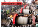 Linha da planta de produção da limpeza de minério da mina