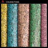 단화를 위한 다채로운 인공적인 PU PVC 가죽