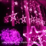 2017 Licht van het Gordijn van het Goede LEIDENE van de Kwaliteit Gordijn van de Kleur het Veranderende Lichte In het groot met 12 Sterren van Yuegang