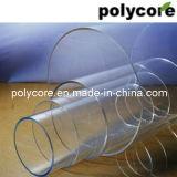 透過円形のポリカーボネートの堅い管