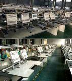 Máquinas industriais eletrônicas do bordado para o bordado liso do tampão do vestuário 3D com computador de Dahao