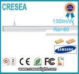 linha luz do diodo emissor de luz de 125lm/W 48W 75W 5FT para o armazém do supermercado
