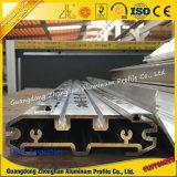 Hersteller 6063 passte Aluminiumstrangpresßling-Profil-Tausendstel-Ende an