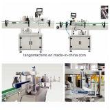 自動6000bph高容量の2側面のびんの自己接着ステッカーの分類機械
