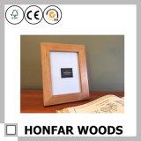 Rétro bâti de photo d'illustration en bois solide pour la décoration de maison de bureau