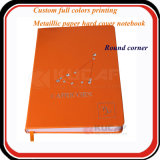 Большинств популярная изготовленный на заказ мраморный тетрадь крышки кожи украшения