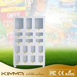 Шкаф управлением экрана рекламы + локер 17 клеток