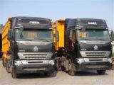 트럭을 기울이는 Sinotruk 420HP 호화스러운 광업