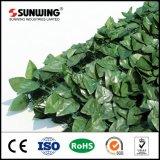 PE tamaño personalizado rollos de cribado artificial de cobertura para la decoración de la pared