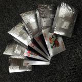 Euro mazza di plastica della stagnola d'argento che gioca le schede di Cards/PVC
